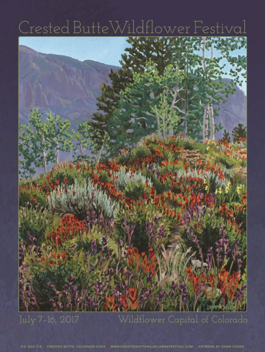 About the 2017 Poster Artist | Festival News | Crested Butte